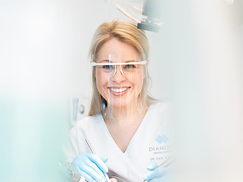 Diamond Dental Staff Member Smiling